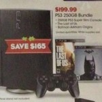 PS3 Bundle on sale for Black Friday!