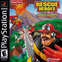 Rescue Heroes – Molten Menace