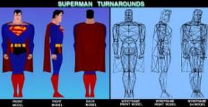 Supermanwireframe